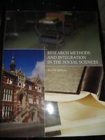 Research Methods and Integration in the Social Sciences