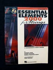 Essential Elements 2000 Violin Book 1 + CD Loganholme Logan Area Preview