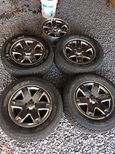 5 Jeep rims 4.5 bolt pattern