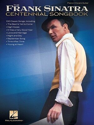 Frank Sinatra Centennial Songbook Sheet Music Piano Vocal Guitar SongB 000307363