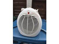 Caravan fan heater
