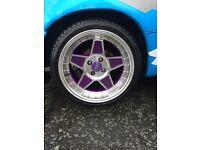 """Alloy wheels fyk 16"""" 4x100"""