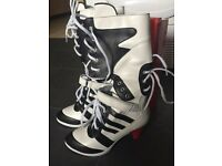 Harley Quinn cosplay boots U.K. size 5