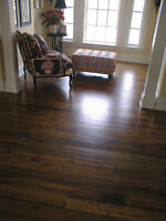 Reclaimed Hardwood Wide Plank Flooring