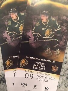 Lower bowl for Nov. 6 Knights game!!!