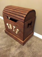 Hand Made Dog Toy Chest -Made in Canada-