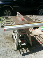Selling Ridgid saw table