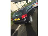 Audi A3 1.6 petrol sell or swaps