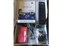 Techno sat mini FULL HD satellite receiver all Europe, Africa, Asia, americas channels