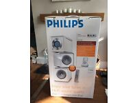 Reduced Retro Philips stereo/docking station
