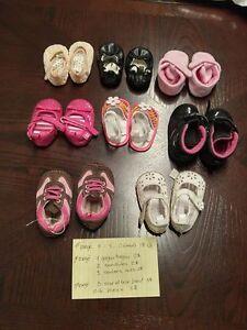 vêtements filles 0-3 mois, chaussures grandeurs 1-2 et 3 Québec City Québec image 1
