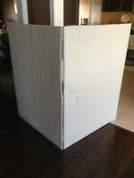 6' width x 4' height fabric portable / foldable sign for display