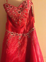 Brand New Red Prom dress