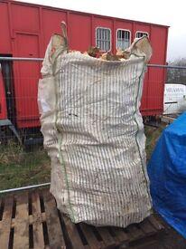 LOGS Cut & Split Seasoned LOGS Inc Mainland Pallet Delivery* plus free kindling & fire lighters