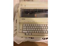 Brother AX100 typewriter