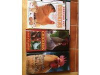Chicken keeping books x3 as new condition