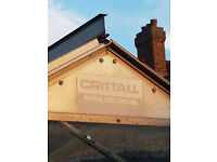 Crittall 10ft x 8.5ft x 6.10ft greenhouse