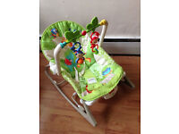 Fisher Price Rainforest Infant-to-Toddler Rocker