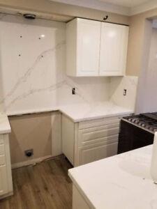 Quartz Granite Countertops + Free Estimate - Jenny 416-666-9866