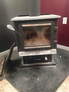 1 year old! Wood stove!