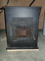 PelPro Pellet Stove, Exhaust Vent Pipe and Cold Air Intake Vent