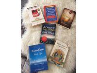 Selection of self help books