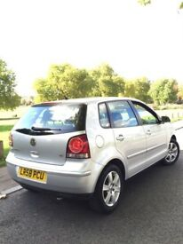 Automatic 2008 1 owner low mileage 1.4 vw polo match