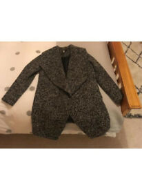 Nearly new H&M boucle coat size 12