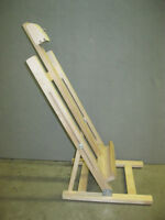 Table Easel with adjustable angle/ Chevalet de Table
