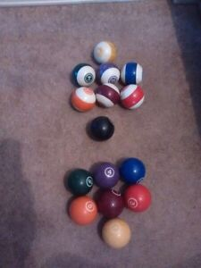 Funky Pool balls for sale