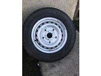 Ford transit Fire stone van hawk 215/65/15c