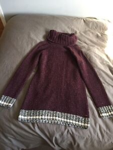 Roots Sweater and Lulu Sweater