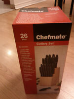 CHEFMATE CUTLERY SET WITH 26 PCS