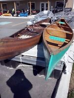 Two Cedar Strip Canoes $795 and $995