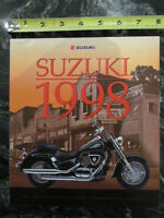 SUZUKI 1998 FULL LINE BROCHURE CATALOG