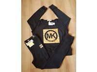 Black MK pjs brand new in box selfridges
