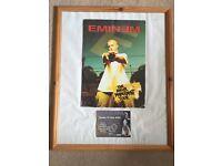 Eminem framed ticket and programme