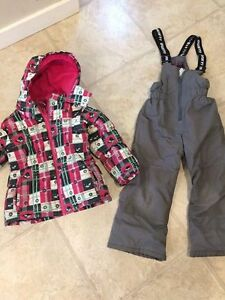 Girls Gusti Snowsuit