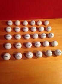 30 Dunlop golf balls