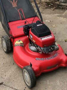 Mastercraft rear bag lawnmower