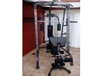 Multi gym smith machine