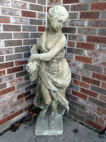 "Cement statue ""Summer"" from Chintz & Company"