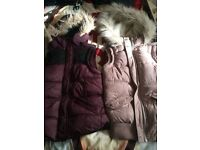 Superdry Jacket and 2 Hudson And Rose Body Warmers