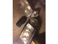 VW Polo headlights