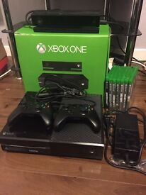 Xbox One 500gb + Kinect + 2 controllers + 7 games