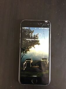 iPhone 6 64GB - 2 Months Old - Cracked Screen $325obo Kingston Kingston Area image 3