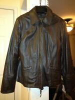 Danier Leather Coat & Point Zero Winter Coat