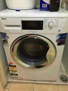 BEKO 8 kg LCD Control Front Load Washer for sale free delivery Narwee Canterbury Area Preview