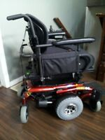 *** ELECTRIC WHEELCHAIR ***