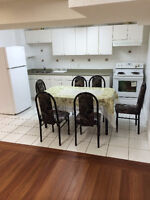 2 bed room basement apartment for rent on Markham and golden